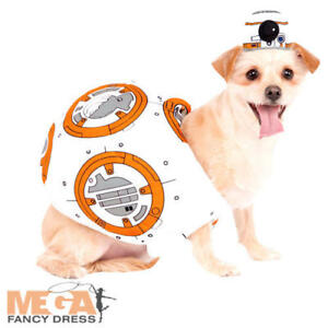 Bb 8 Dog Fancy Dress Star Wars Sci Fi Movie Robot Animal Halloween