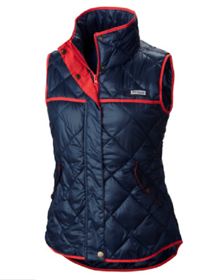New Women S Columbia Pfg Harborside Diamond Quilted Vest