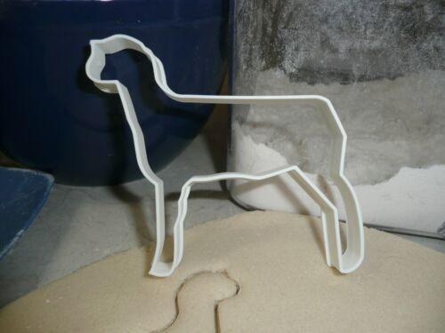 SHEEP FULL BODY FARM ANIMAL LIVESTOCK WOOL FLEECE LAMB COOKIE CUTTER USA PR2433
