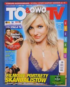 CAMERON DIAZ mag.2010 Poland Rachel Weisz,Woody Harrelson,Twilight Saga - europe, Polska - Zwroty są przyjmowane - europe, Polska