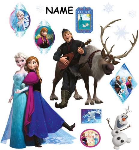 """Set /_ Wandtattoo // Sticker /_ /"""" Disney die Eiskönigin 13 tlg Frozen /"""" Wandst"""