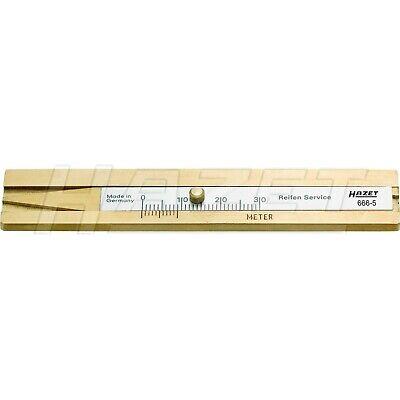 Hazet Reifenprofil-Tiefenmesser 666-5 Profilmesser Messschieber Neu OVP