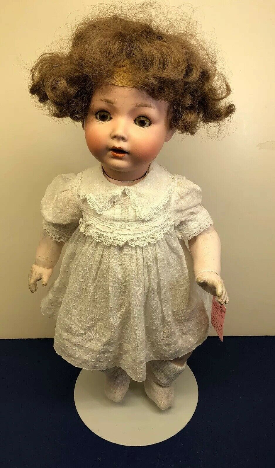 "17.5"" Antique S Star H PB 4 Germany Schoenaug Bisque Compo Body Adorable    S"
