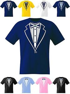Kids-Tuxedo-T-Shirt-Scotland-Boys-Girls-Football-Rugby-Cricket-Prom-Fancy-Dress
