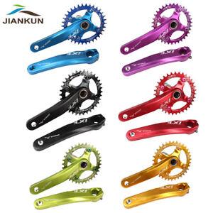 104BCD-32-42T-Bike-Crankset-BB-AL6061-MTB-Narrow-Wide-Chainring-170mm-Crank