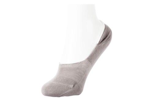 WOMEN/'S BAMBOO NO SHOW NON SLIP SOCKS SHOE LINERS 4 Pairs