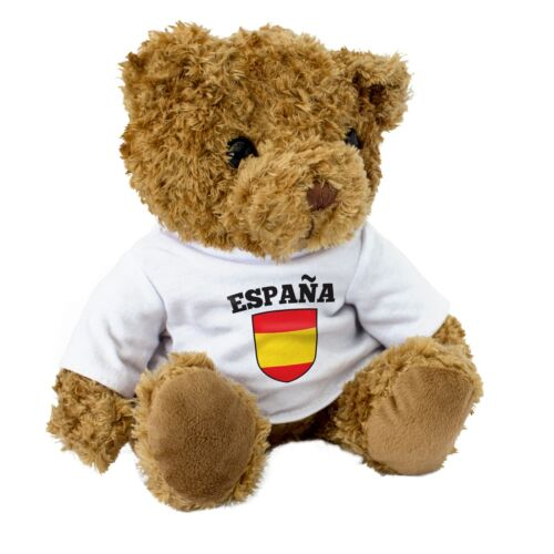 Spanish Football Fan NEW Present Gift Spain // España Flag Teddy Bear