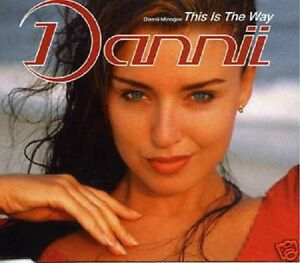 DANNII MINOGUE This is the Way 4 RARE MIXES CD Single 8787664543549