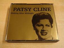 2-CD BOX / PATSY CLINE - WALKING AFTER MIDNIGHT