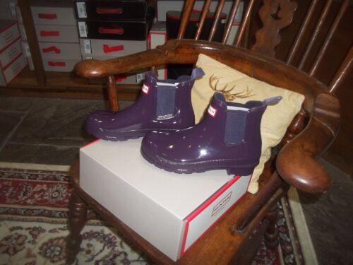 In Wellingtons Wellies taglia Purple Gloss Boot Chelsea 7 Halifax Urchin Hunter qwaPq