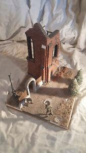 1-35-Diorama-Building-Ruined-European-Church-w-base-resin