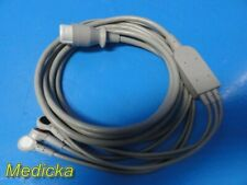 Hp Philips M1733a One Piece Ecgekg Cable 03 Leads Snap Aha 23531