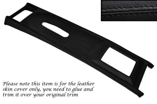 Black stitch centre console couverture en cuir pour rover P6 2000 2200 3500 sc tc V8
