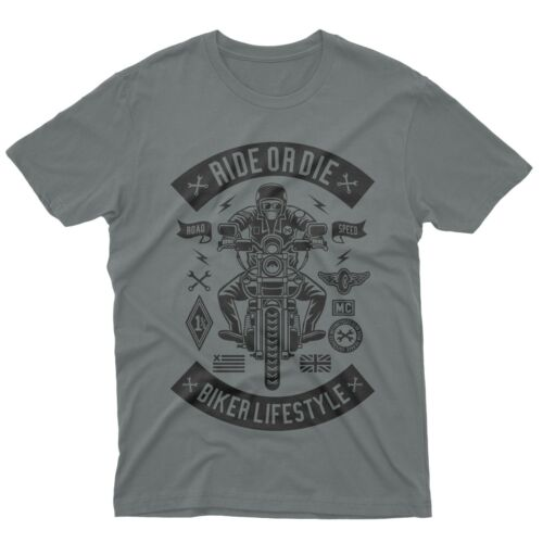 fm10 t-shirt maglietta Ride Or Die moto centauro biker idea regalo gift motori