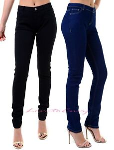 Women-Ladies-Girls-Ex-Stores-Skinny-Slim-Leg-Black-Indigo-Plus-Size-Jeans-UK6-24