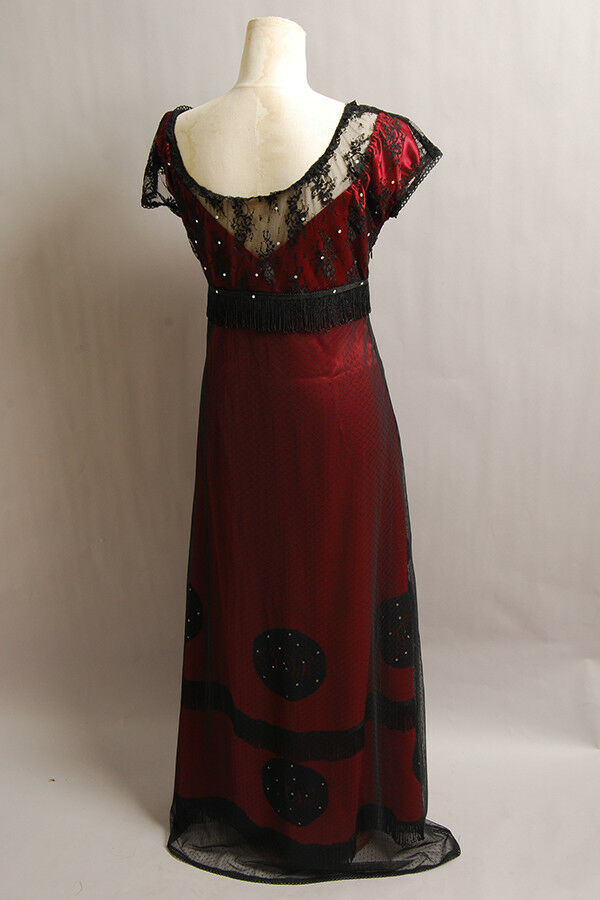 Replica Titanic Rose Flying Dress Costume Victorian Custom Tailed in Any size