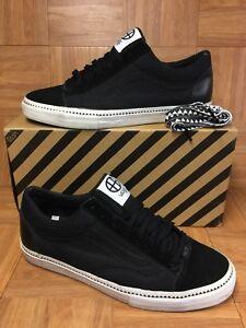 4156033865 RARE🔥 VANS Old Skool LX Huff Black True White Low Sneakers Sz 13 ...