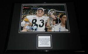 Heath-Miller-Pittsburgh-Steelers-Framed-11x14-Photo-Display