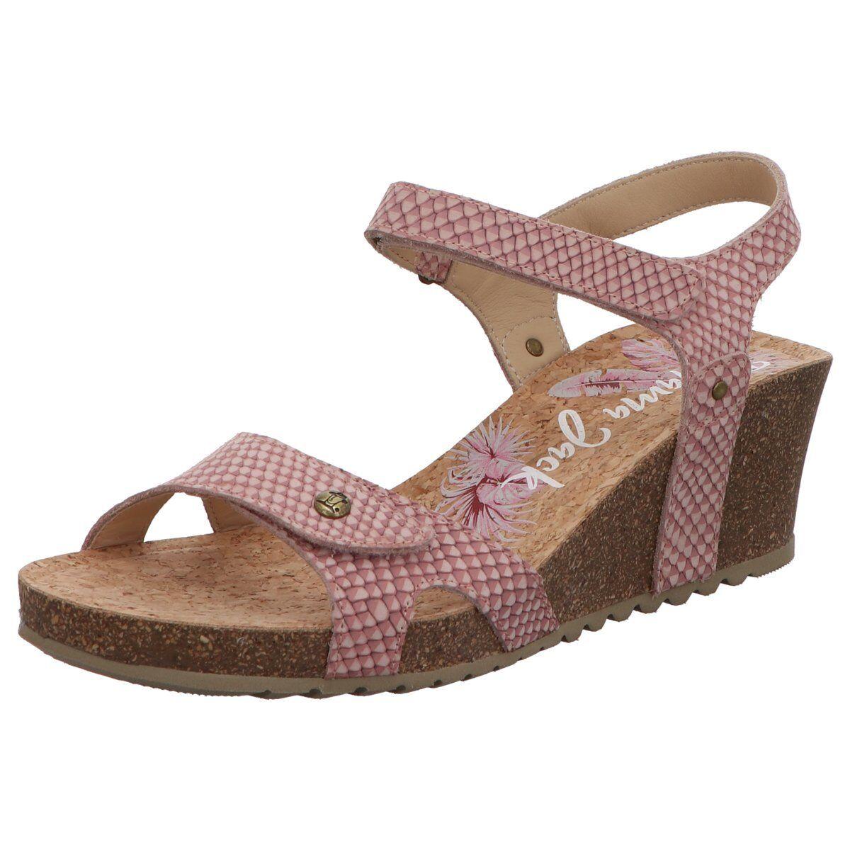 NEU Panama Jack Damen Sandaletten -11 Julia Snake B14 rosa 446422