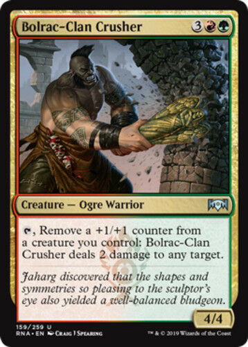 4x Bolrac-Clan Crusher MTG Ravnica Allegiance NM Magic Regular