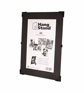 Clip Frame Picture Photo Frames Frameless Fitted With Glass And