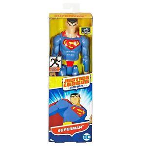 DC-Comics-Justice-League-Superman-30-cm-12-Inch-Action-Figure-Toy-Mattel-FBR03