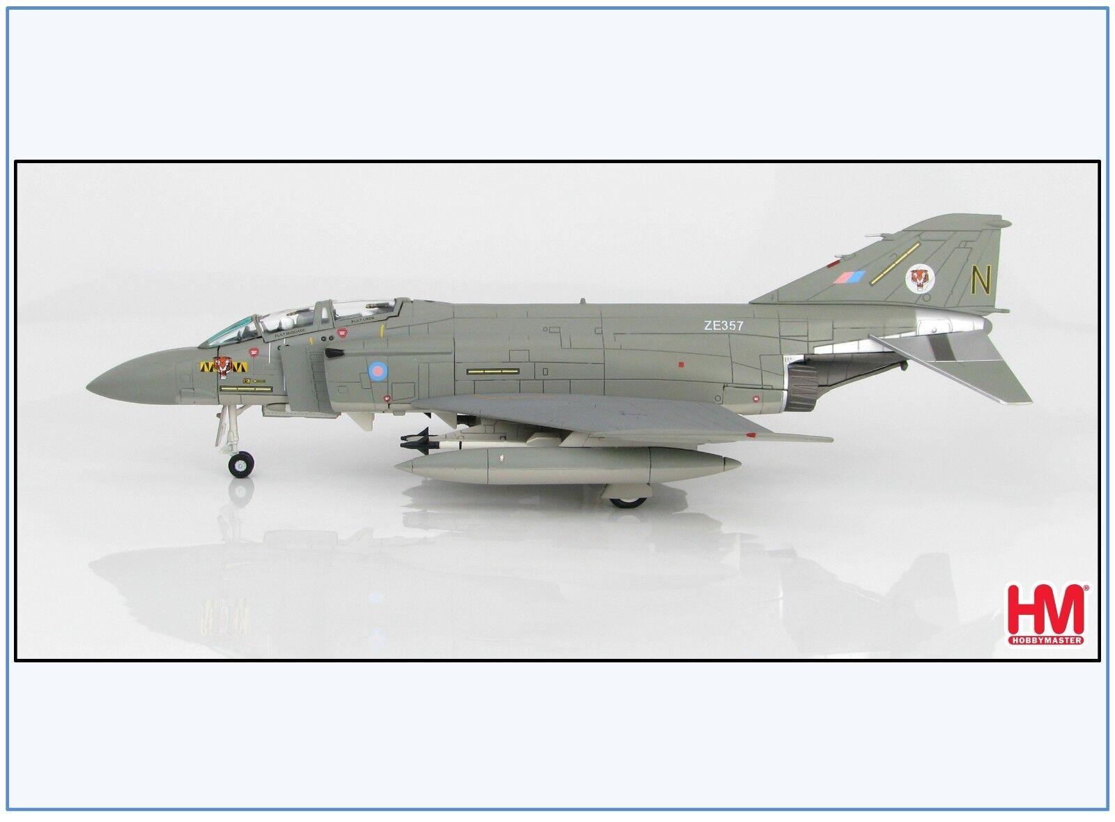 Ha1986 f-4j (UK) Phantom II RAF 74 SQ. ze357, 1985, HOBBY MASTER 1 72,neu 12 17