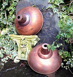 Copper-Lampshade-Loft-Lighting-Ceiling-Pendant-Lightshade-Industrial-Steampunk