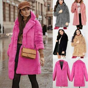 Womens-Winter-Teddy-Bear-Faux-Fur-Coat-Jackets-Ladies-Warm-Jumper-Outwear-Coat