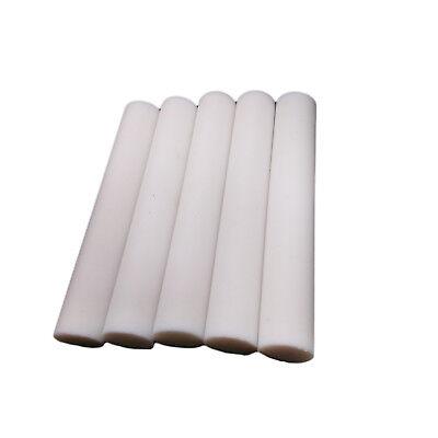 1Pcs 100mm Length  OD 10mm PTFE Round Rod Bar