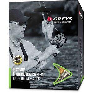Greys Platinum Shooting Head Salmon Fly Line System New 2020 Stock *