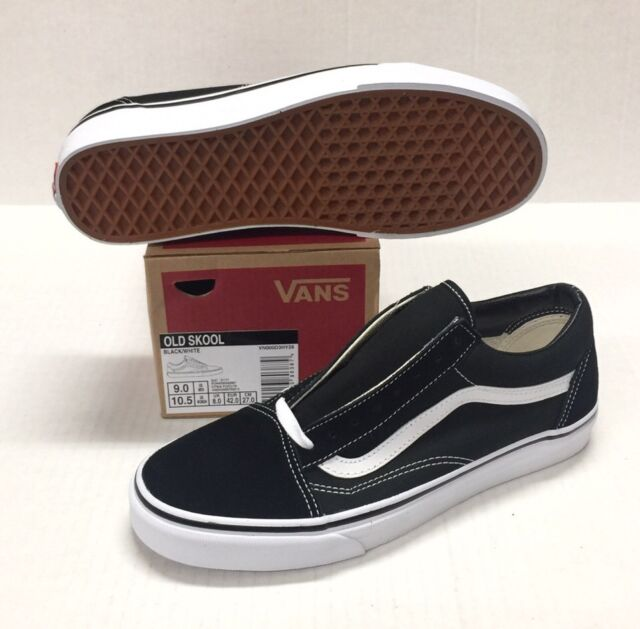 83bf9603e9 New Men and Women Vans Old Skool Black Shoes Classic Canvas Suede  VN000D3HY28