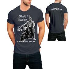 Triumph Motorcycles Nevada Tee Mens White Bud Ekins T-Shirt NEW MTSS19103