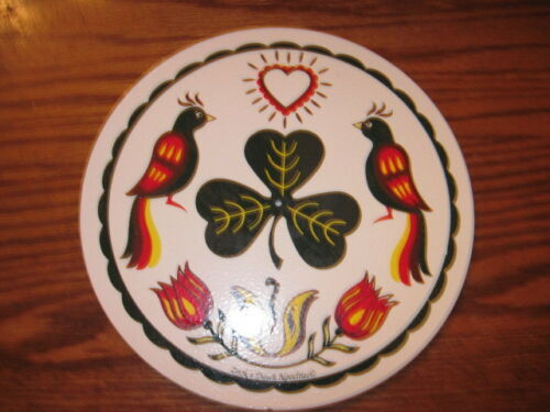 """8/"""" PA Dutch Hex Sign Good Luck Of The Irish H-1 Made In USA"""