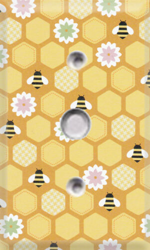 Gardening Honeycomb /& Bees Themed Light Switch Cover ~ Choose Your Cover  ~