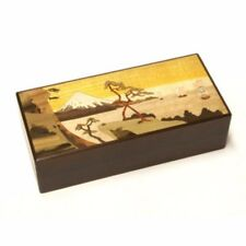 Hakone Yosegizaiku Japanese Puzzle Box 7 steps Yui Parquet work F/S