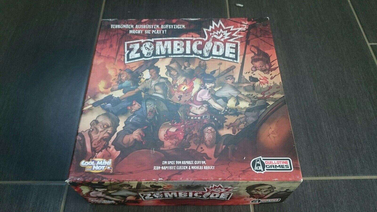 Jóvenes Asmodee Cool mini or not Zombicide juego de mesa juguete Game para Family