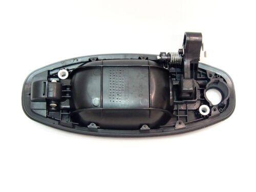 Right outside Front door handle fits Hyundai Santa Fe MK I SUV 2001-2006 Black