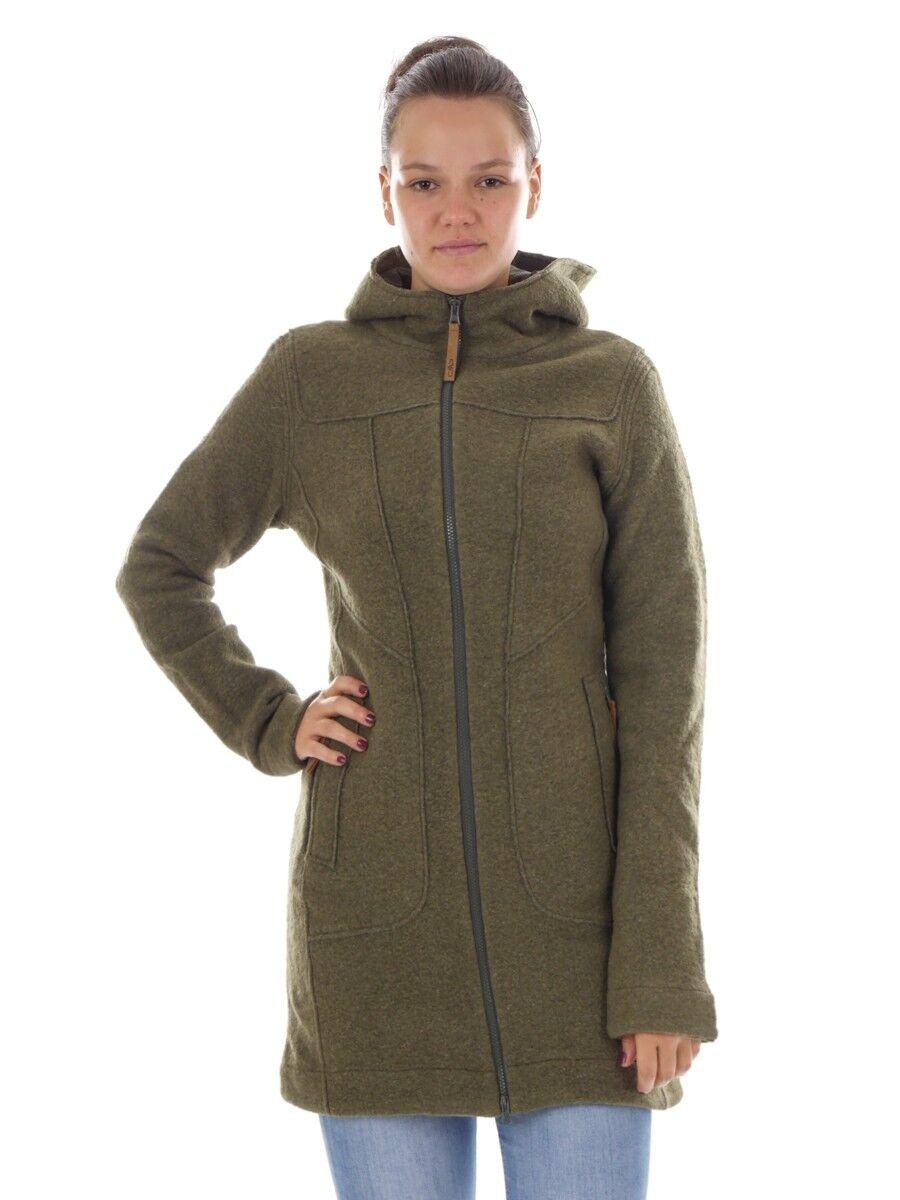 Función  CMP chaqueta chaqueta lana chaqueta de punto verde wooltech termoaislante  en stock