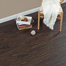 NEU.HOLZ® 1,11m² Vinyl Laminat Dielen Planken Wenge Matt Vinylboden Bodenbelag