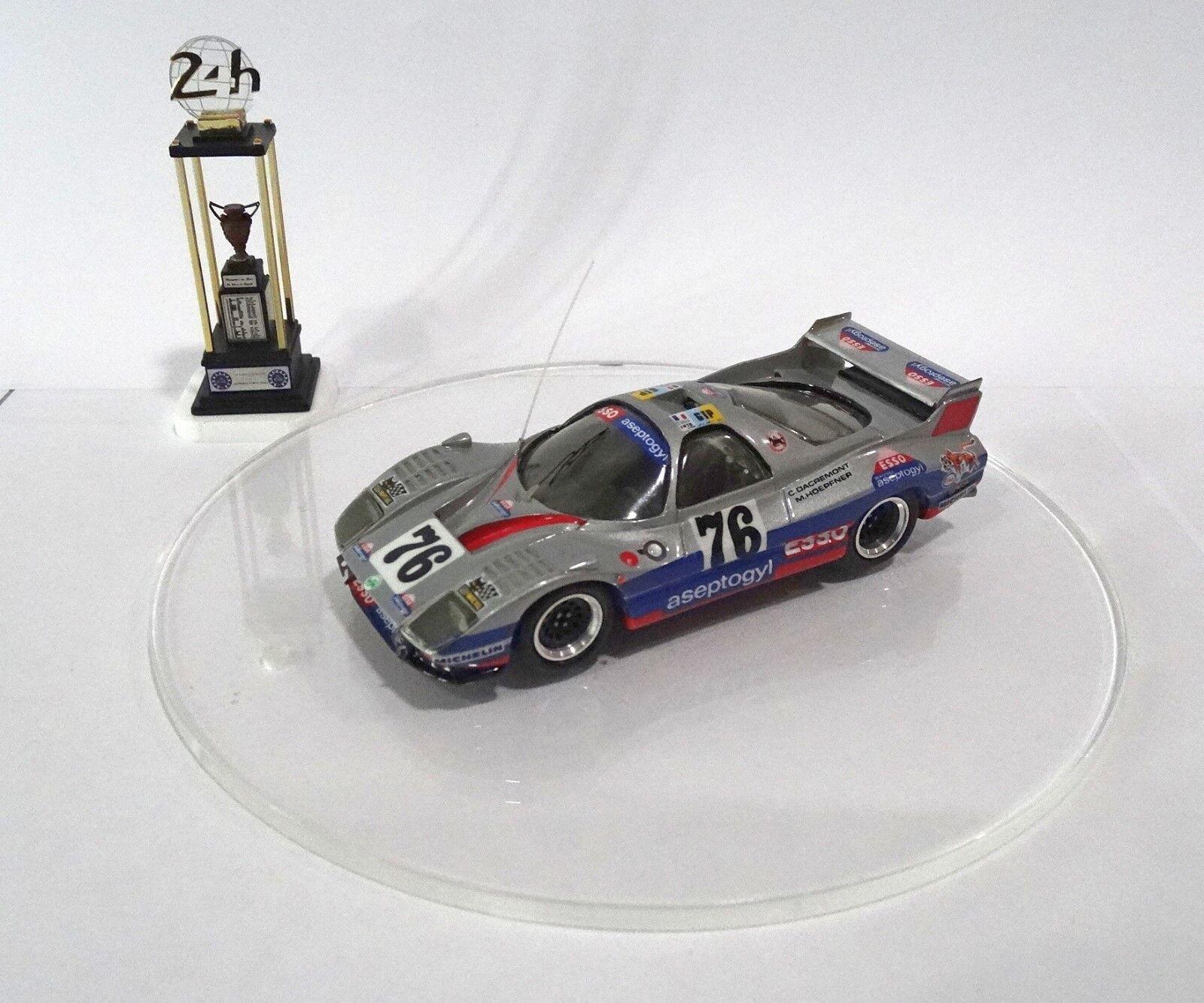 WM P76  76 Le Mans 24 Hours 1978 Built Monté Kit 1 43 no spark minichamps