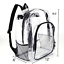thumbnail 5 - Heavy Duty Transparent Clear Backpack See Through Backpacks for Travel,College