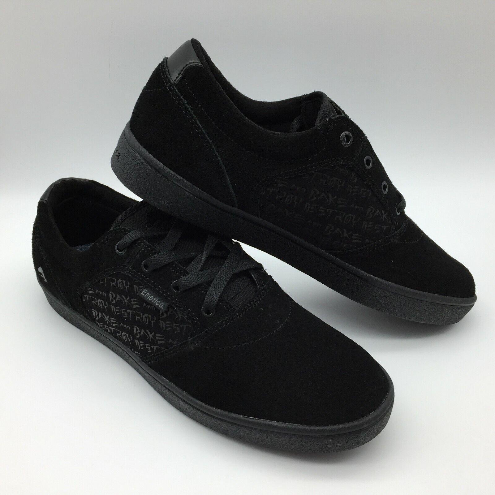 Emerica men women shoes   Figgy Dosaggio x Baker   black black