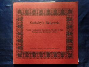 22 Stück Sotheby's Belgravia Auktionskataloge Aus Den Jahren 1975-78; ~3,5kg Zu Verkaufen Antiquitäten & Kunst