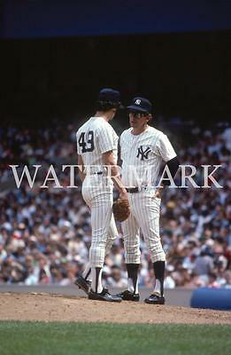 AI388 Billy Martin Chats with Ron Guidry Yankees Baseball 8x10 11x14 16x20 Photo
