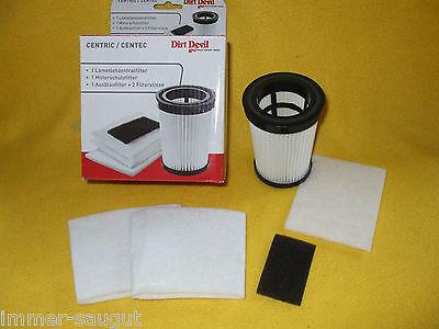 Dirt Devil  5-teiliges Filter Set für M 2828 -0 -1 -2  -3,  M 2827 -1 -2   (15.)