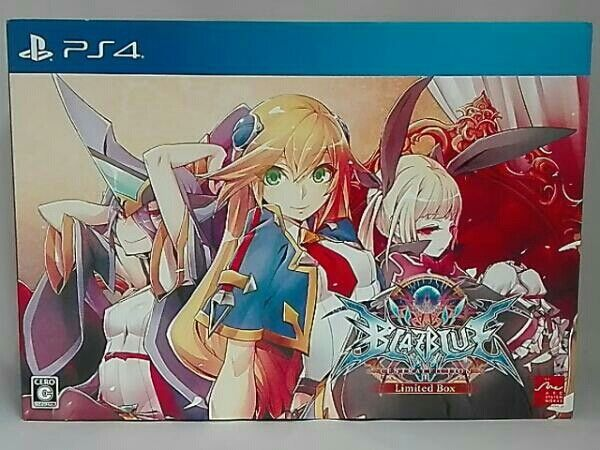 BlazBlue: Central Fiction Limited Edition - PlayStation 4 PS4 Limited  Edition JP