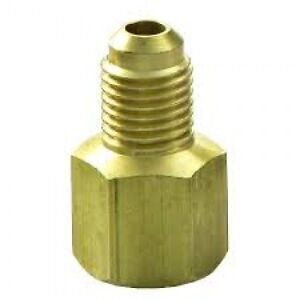 """Flare Fitting Adapter - 1/2"""" To 3/8"""""""