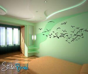 vinyl wall art decal sticker flying birds 793 ebay