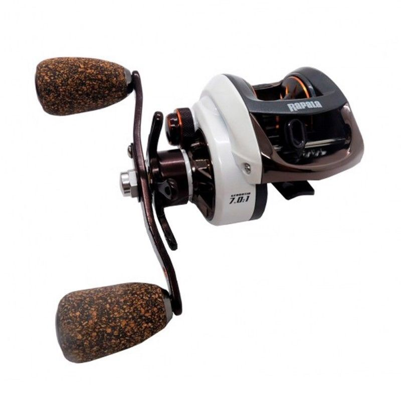 RAPALA Challenge 200 LP Baitcaster Right Hand Fishing Reel + Warranty +Braid